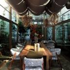 【食】【台北-迪化街】古宅裡面的秘境-玻璃屋『牧山丘 MuHills』,義法料裡等著你來探險